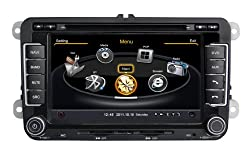 See SDB Car DVD Player With GPS Navigation(free Map) For Volkswagen VW Golf Jetta Car Audio Video Stereo System with Bluetooth Hands Free, USB/SD, AUX Input, Radio(AM/FM), TV, Plug & Play Installation Details