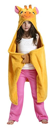 ZOOCCHINI Jaime the Giraffe Hooded Towel