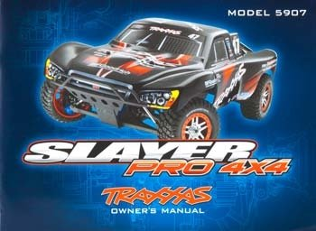 Traxxas 5999X Owner Manual Slayer Pro 4x4