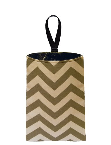 car Trash Bag Litter Bag Garbage can for Your Automobile The Mod Mobile Auto Trash Brown Leopard Print