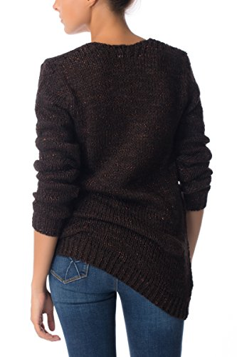 GAS MIRJA V 0215 Maxi maglione con scollo a V