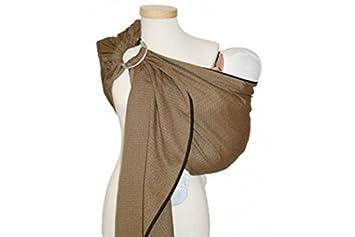 Maintenant le prix de cliquer sur le lien ci-dessous pour vérifier..  Ring-Sling-Leo-Unis-Storchenwiege. écharpe porte-bébé ... 613e32e0b5e