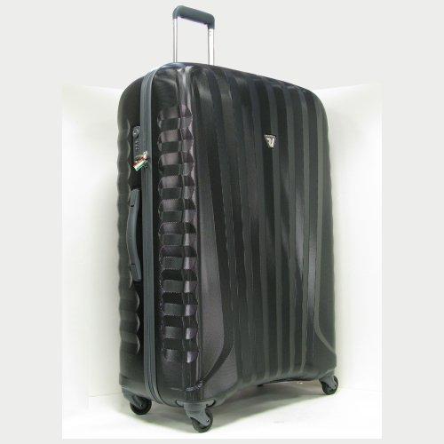 〔ロンカート〕RONCATO UNO ジッパーキャリーケース〔10年保証 日本正規品〕100L イタリア製(ブラック)