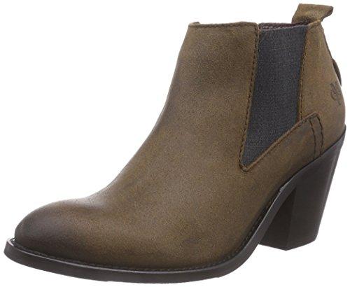 Marc O'Polo Chelsea Boot, Stivaletti a gamba corta mod. Chelsea, imbottitura leggera donna, Marrone (Braun (765 brown)), 38 2/3
