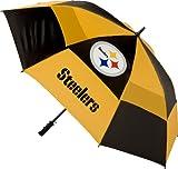 NFL Pittsburgh Steelers Vented Canopy Golf Umbrella