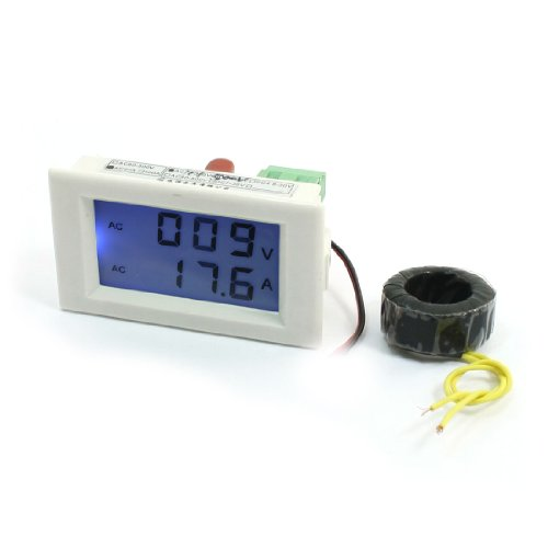 Lcd Display Digital Voltmeter Ammeter 200-500V 50A Volt Amp Measuring