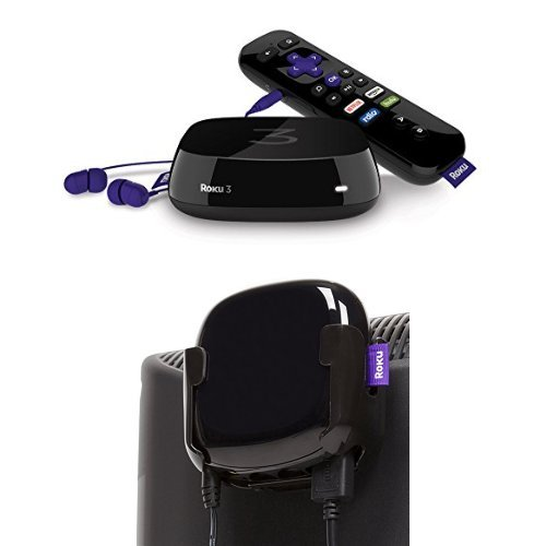 Roku 3 with TotalMount Roku TV Mount