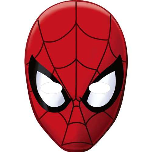 Spider-Man Hero Dream Party Paper Masks (8ct)