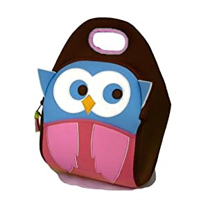 Dabbawalla Bags Insulated Lunch Bag, Hoot Owl