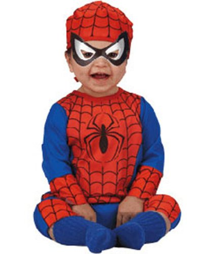 Spiderman Costume Classic Toddler Boy - Toddler 3-4T