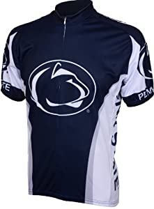 Adrenaline Promotions Penn State Cycling Jersey, Blue by Adrenaline Promotions