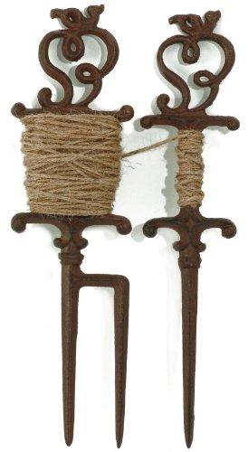Esschert Design Cast Iron Plant Lead, antique brown, W8052
