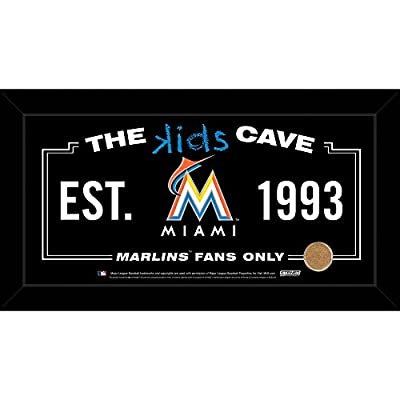 Wholesale Miami Marlins 10x20 Kids Cave Sign w Game Used Dirt from Marlins Park, [Sports, Miscellaneous]