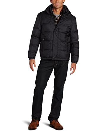 伦敦雾 London Fog Men's Ripon Down Hipster Jacket 男士羽绒服四色$109.99
