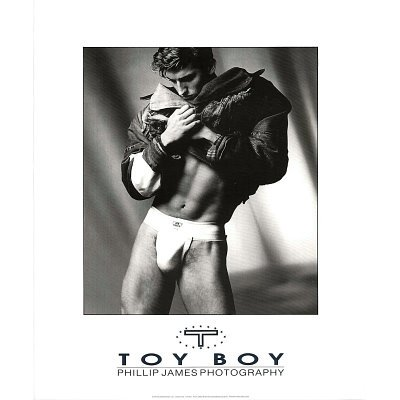 Male+Model%2C+Toy+Boy%2C+Phillip+James%2C+Photo+Print+Poster+-+20x24