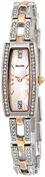 Bulova 98X110 Mother of Pearl Women's Watch