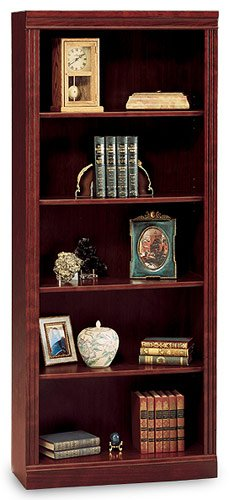BUSH FURNITURE Saratoga Executive 5 Shelf Bookcase