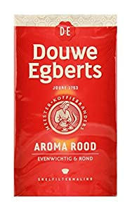 Douwe Egberts Aroma Rood Ground Coffee, 17.6-Ounce