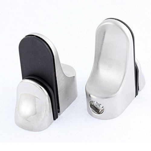 2-Stk-Edestahl-24mm-Dicke-Glas-Holz-Regal-Halterung-Clip-Spanner-Halter-de