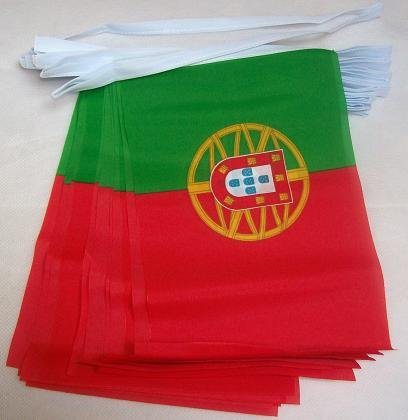 6m 20 Flag Portugal Portugese National Bunting