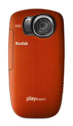 Kodak PlaySport (Zx5) HD Waterproof Pocket Video Camera - Red  (2nd Generation)
