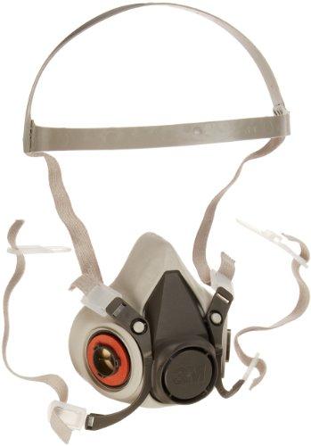 3M 6000 Series Respirator Half Mask Facepiece, 30 Pack