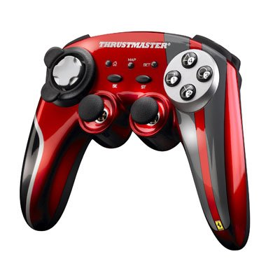 Multi Ferrari Wireless Gamepad F430 Scuderia Limited Edition PC/PS3