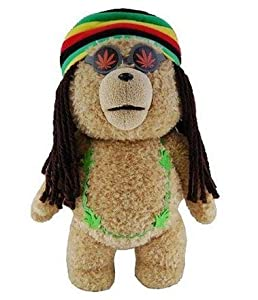 "Ted in Rasta 24"" Plush Toy Outfit with Sound"