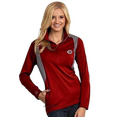 Cincinnati Reds Ladies Delta Jackets - Dk Red