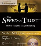 img - for The Speed of Trust( The One Thing That Changes Everything)[SPEED OF TRUST M][UNABRIDGED][MP3 CD] book / textbook / text book