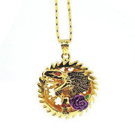 Tonpha Gold Dragon Crystal Diamond Jewelry 8GB USB Flash Drive