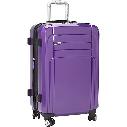Calvin Klein Rome 29 Inch Upright Suitcase, Plum, One Size (Lightweight Upright Suitcase compare prices)