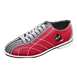 Bowlerstore Mens Cobra Rental Bowling Shoes (9 M US, Red/Gray)