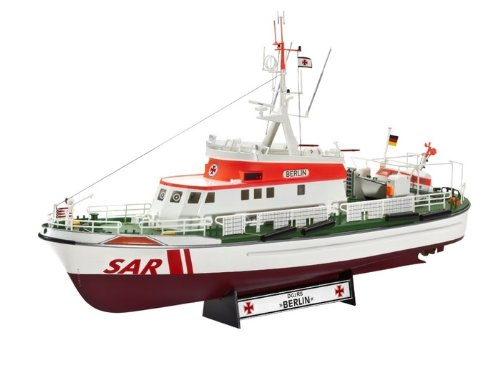 Revell-05211-Modellbausatz-Seenotkreuzer-Berlin-Mastab-172