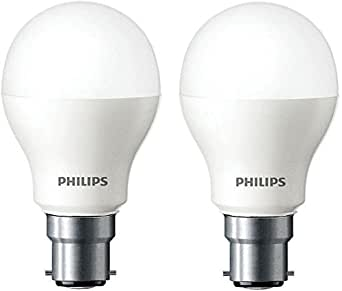 Buy Philips Base B22 7 Watt Led Bulb Cool Day Light Pack Of 2 Online At Low Prices In India