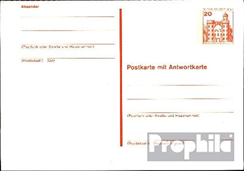 Berlin (West) p106 Officiel Carte postale cachet de complaisance 1977 Châteaux u. Serrures (Documents entiers postaux pour les collectionneurs)