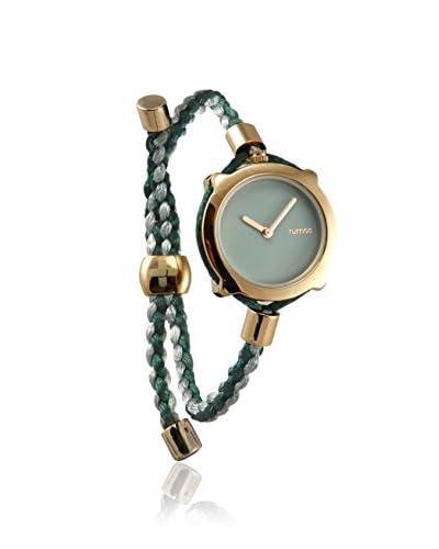 RumbaTime Women's 18865 Gramercy Grey Braided Nylon Watch As You See