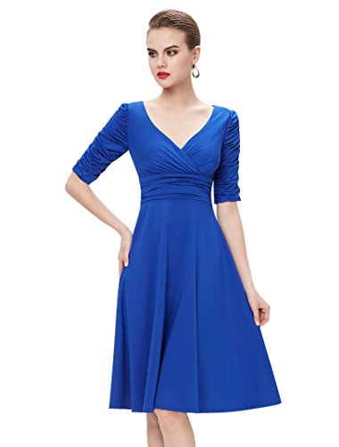 Ever Pretty Womens V Neck Empire Waist Wedding Guest Dress 14