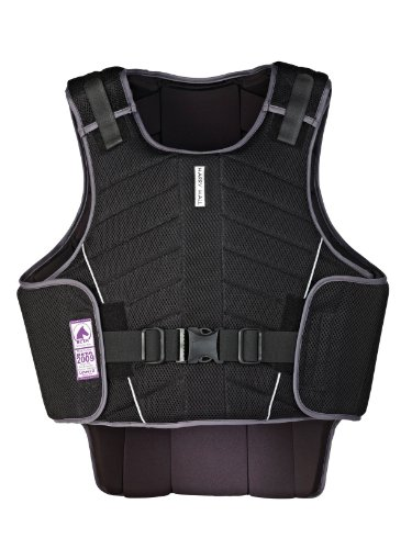 Harry Hall Zeus Body Protector - Black, Medium