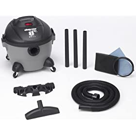 Shop-Vac 5850800 8-Gallon 3.5-Peak HP Quiet Plus Series Wet/Dry Vacuum