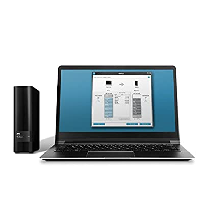 WD My Book Desktop Storage 4TB External Hard Drive USB3.0