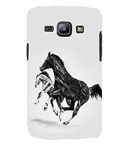 PRINTSWAG HORSES Designer Back Cover Case for Samsung Galaxy j2