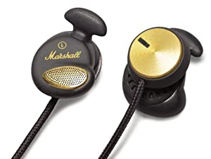 Marshall Audio Minor In-Ear Stereo Headphones for iPhone iPod Touch & Android