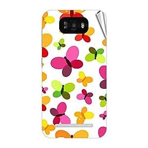 Garmor Designer Mobile Skin Sticker For Gionee GN705T - Mobile Sticker