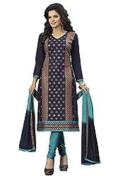 Venisa Pure Cambric Cotton Salwar Suit Dress Material. Durga Pooja Special Price Rs. 1099/- (Regular Amazon Price 1199/-) till 10/10/2016