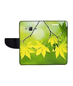 KolorEdge Printed Flip Cover For Samsung Galaxy Z1 Multicolor - (43KeMlogo09336SamZ1)