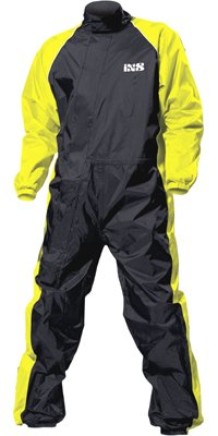 IXS Orca Evo Rain Suit (Black/Hi-Viz Yellow, X-Large)