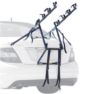 Allen Deluxe Four Bicycle Trunk Mounted Car Rack - 104DB