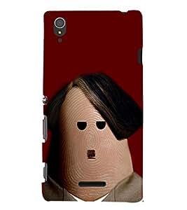 EPICCASE Hitler thumb Mobile Back Case Cover For Sony Xperia T3 (Designer Case)