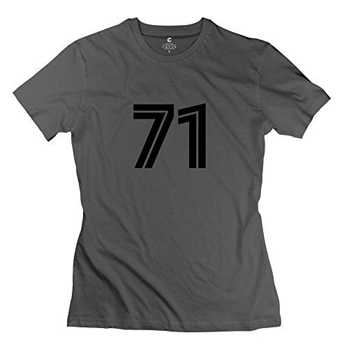 Zhitian Women'S 71 T-Shirt - L Deepheather